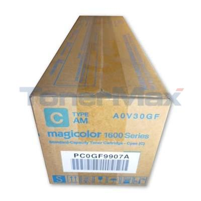 KONICA MINOLTA MAGICOLOR 1690MF TONER CARTRIDGE CYAN